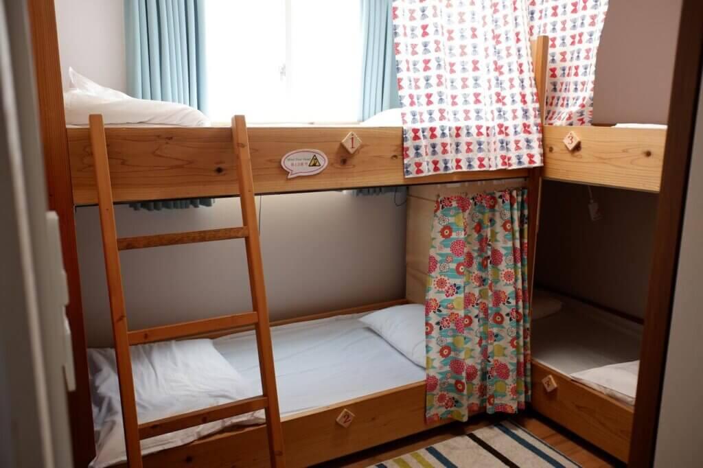 福岡ゲストハウスJikkaの部屋