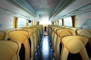 バスの4列シート