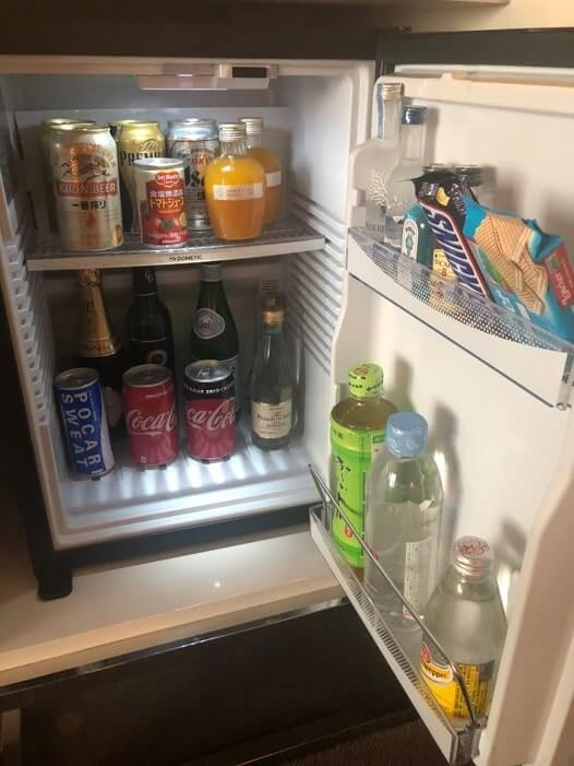 パレスホテル冷蔵庫