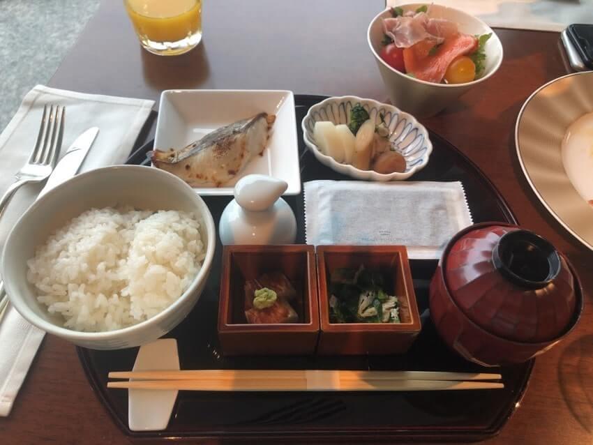 パレスホテル朝食和食