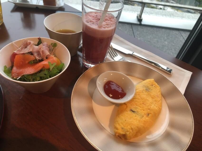 パレスホテル朝食洋食