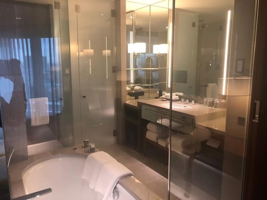 パレスホテル洗面台