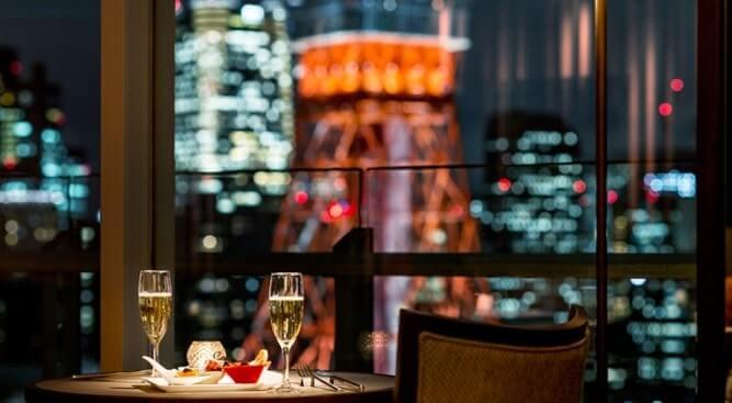 プリンスパークタワー東京シャンパン