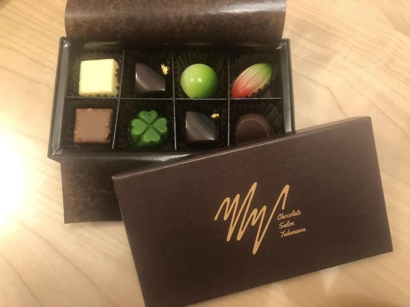 チョコレートサロンタカナワのボンボンショコラ