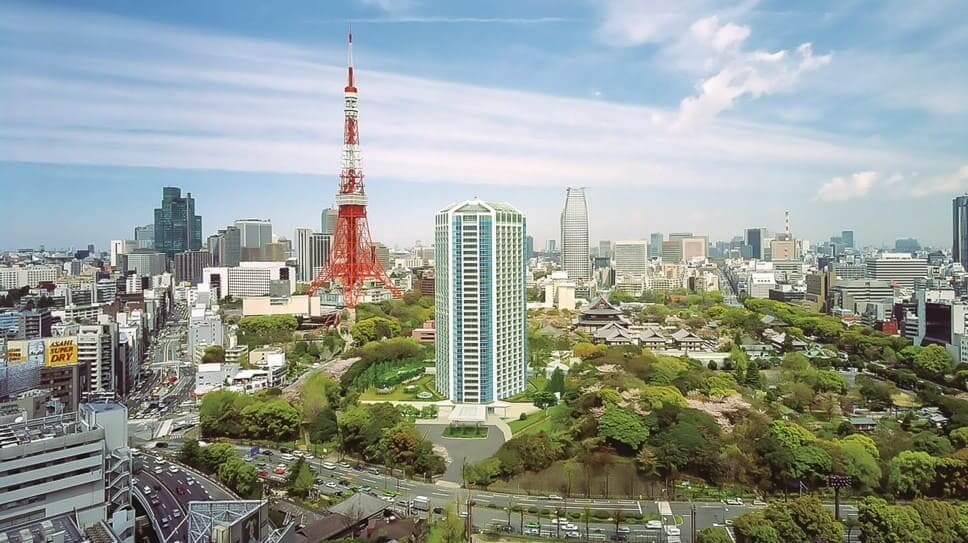 プリンスタワー東京外観