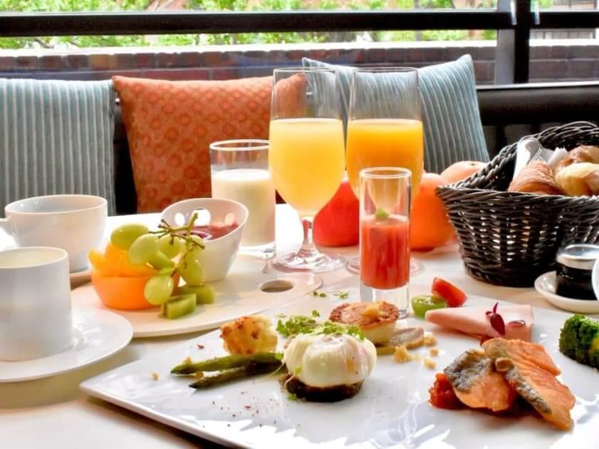 クロスホテル大阪朝食