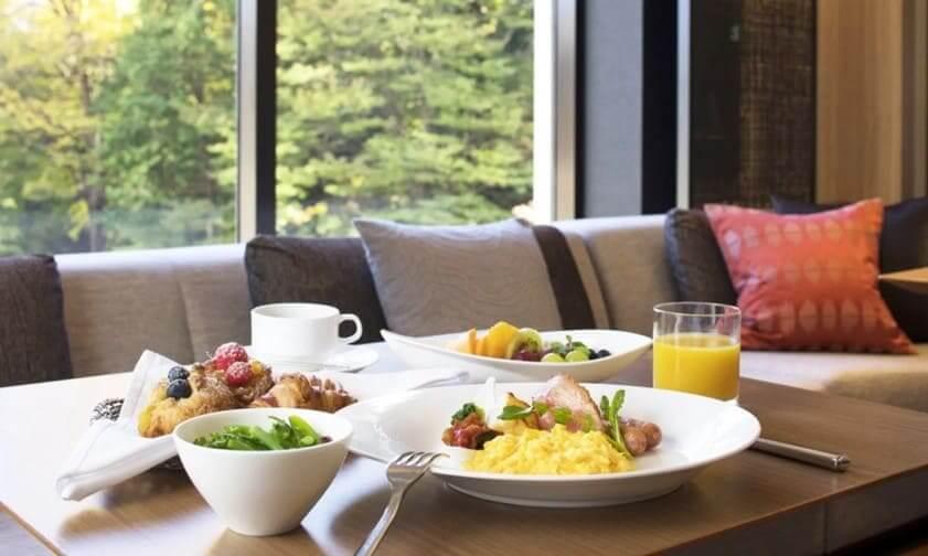 シェラトン都ホテル東京朝食