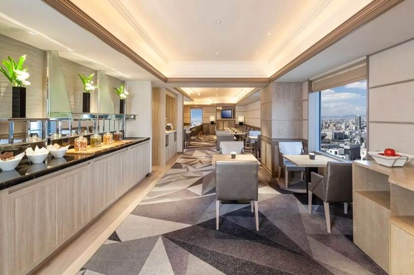 スイスホテル南海大阪ビュッフェ台