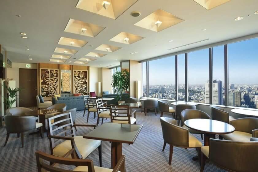 東京ドームホテルラウンジ内装