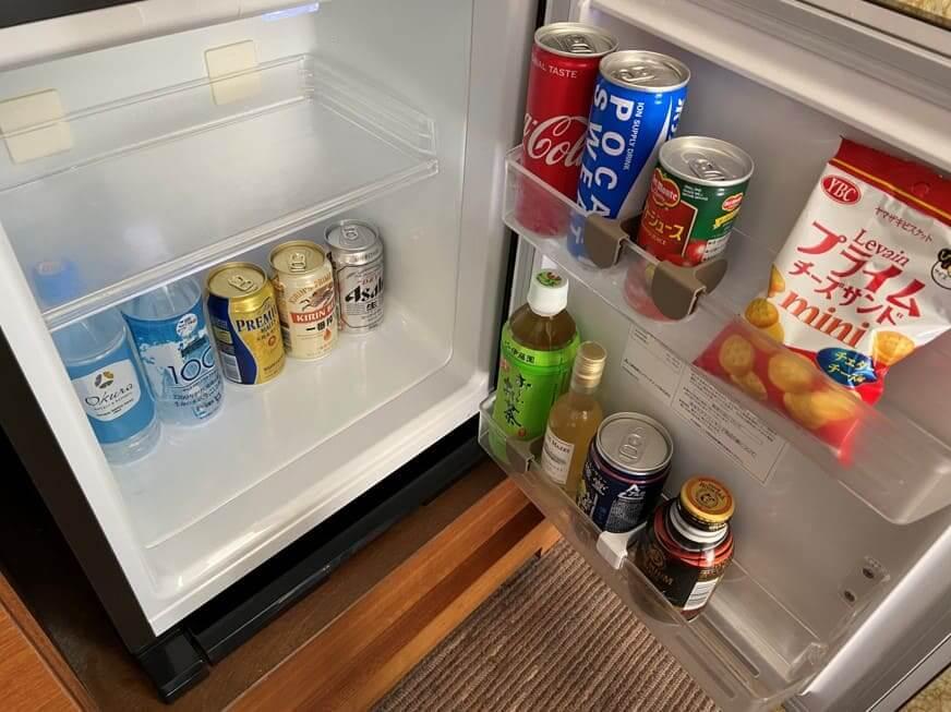 ホテルオークラ福岡冷蔵庫