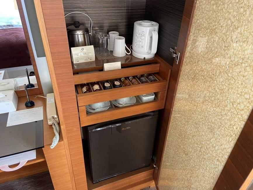 ホテルオークラ福岡ミニバー