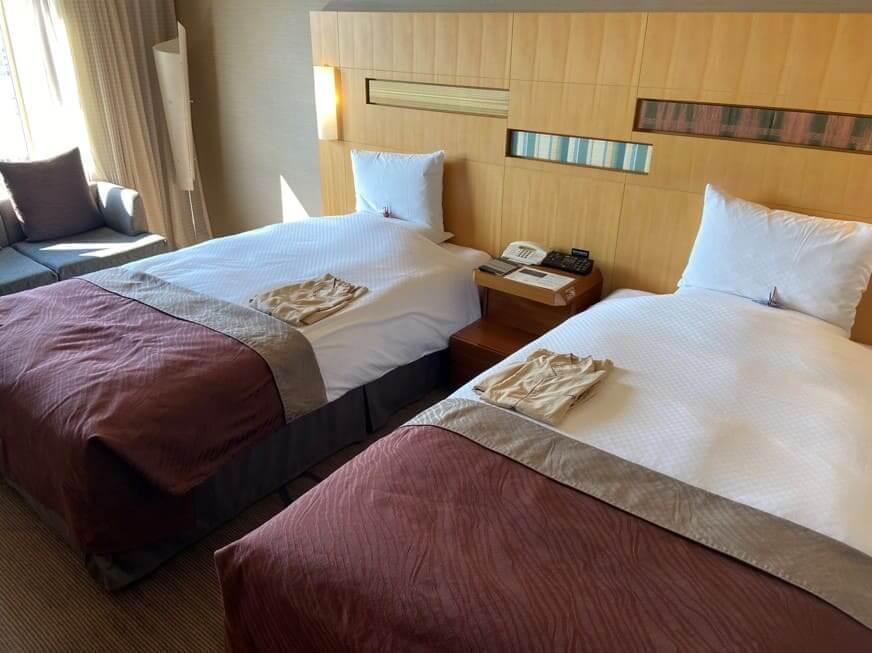 ホテルオークラ福岡部屋