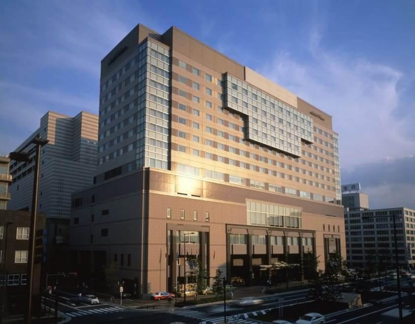 ホテルオークラ福岡外観
