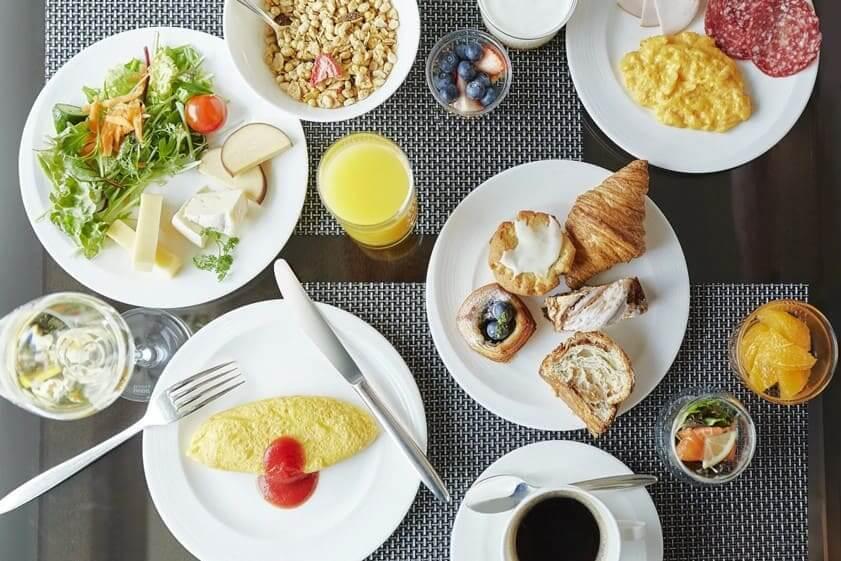 リッツカールトン大阪朝食